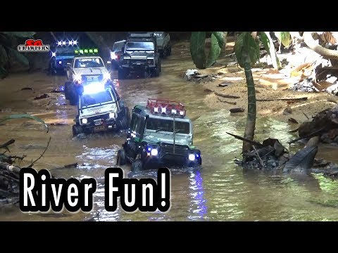 River crossing RC Scale Trucks Offroad Adventures RC4WD - UCfrs2WW2Qb0bvlD2RmKKsyw