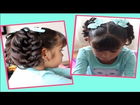 Youtube Peinado Rapido Y Bonito Para El Colegio Peinado Facil