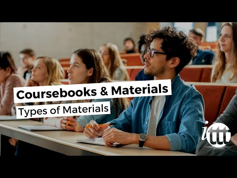 Coursebooks and Materials - Types of Materials