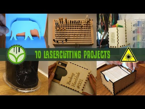 10 projects for the laser cutter - UCf2O0du4zmenNfsj9YOVQow