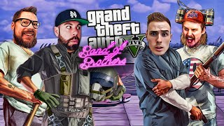 THE BAND OF BROTHERS TAKE ON OUR FIRST HEIST - GTA 5 PC FUNNY MOMENTS and MISSIONS