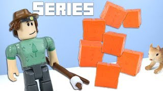 ROBLOX Toys Series 6 Mystery Boxes Orange Crates Jazwares
