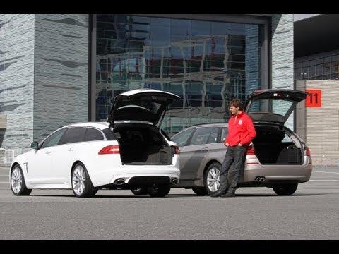 Jaguar XF, BMW 5er- Edelkombis im Vergleich - autobild