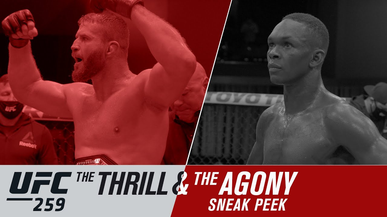 UFC 259: The Thrill and the Agony – Sneak Peek