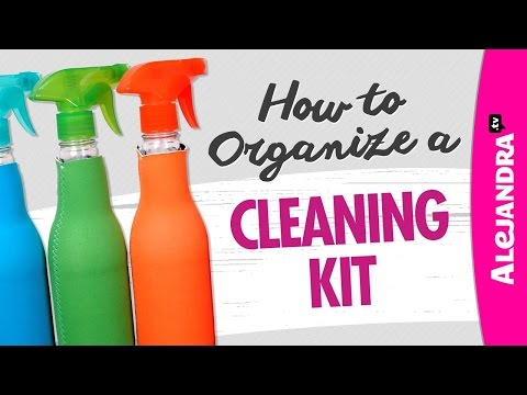How to Organize a Cleaning Kit / Caddy - UCcvu0uB6SzugED_5FEC7Z0Q