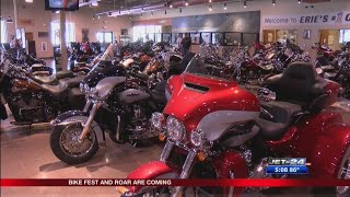 Erie area gearing up for not one, but two major motorcycle events