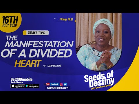 Dr Becky Paul-Enenche - SEEDS OF DESTINY - THURSDAY JULY 16, 2020