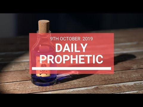 Daily Prophetic 9 October Word 5