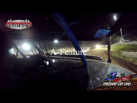 #11T Austin Treadway - Midwest Mod - 9-22-2020 Springfield Raceway - In Car Camera - dirt track racing video image