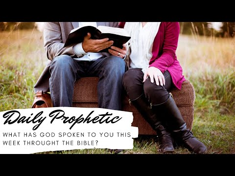 How has God spoken to you throught the Bible this week 13 May 2020