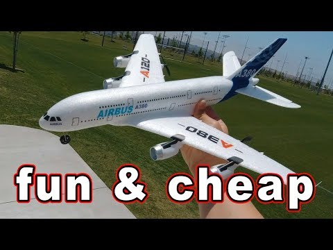 Fun Cheap Way to Get Into RC // XK Airbus A380 ✈️ - UCnJyFn_66GMfAbz1AW9MqbQ