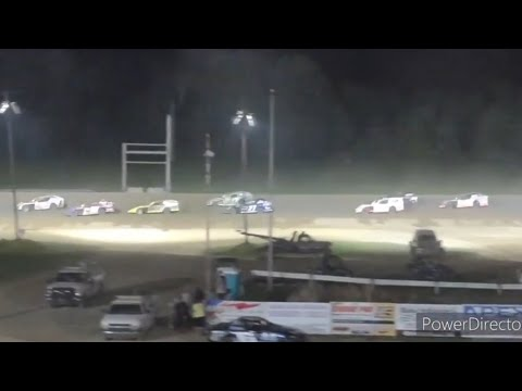 Open Modifieds A-Main - Crystal Motor Speedway - 9-5-2021 - dirt track racing video image
