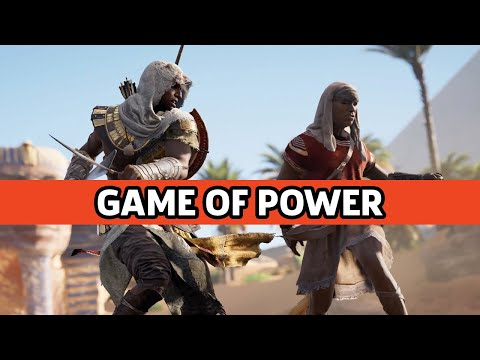 Assassin's Creed Origins - Gamescom 2017 Game of Power Trailer - UCbu2SsF-Or3Rsn3NxqODImw