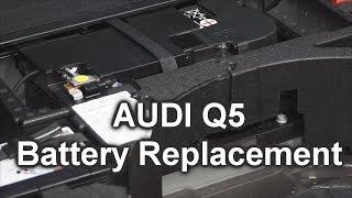 Sostituzione batteria Audi Q5 da 2008