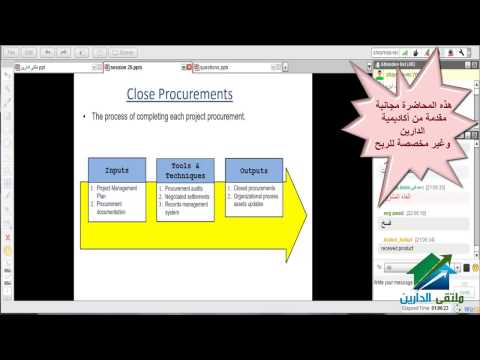 PMP Preperation Course |Aldarayn Academy| lecture 20