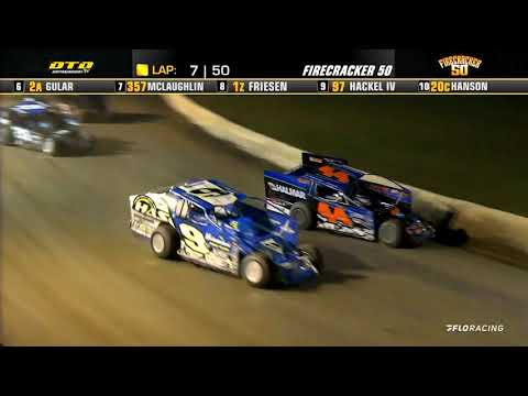 Short Track Super Series (7/4/21) at Fonda Speedway - dirt track racing video image