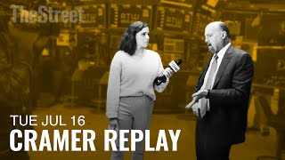 Jim Cramer Breaks Down JPMorgan's Earnings, Stocks He's Watching and the Markets