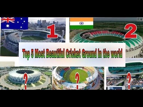 Top 5 most Beautiful Cricket Stadium in the world | #indiacrickettv