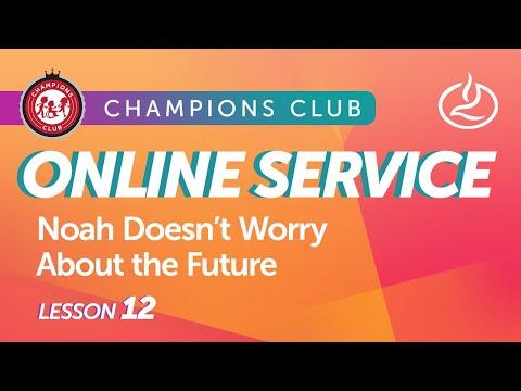 Champions Club Online Service   Week 12