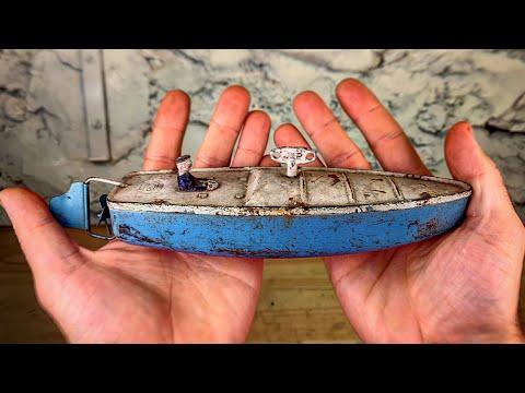 1940s Vintage Speed boat Restoration🛥 - UCIGEtjevANE0Nqain3EqNSg