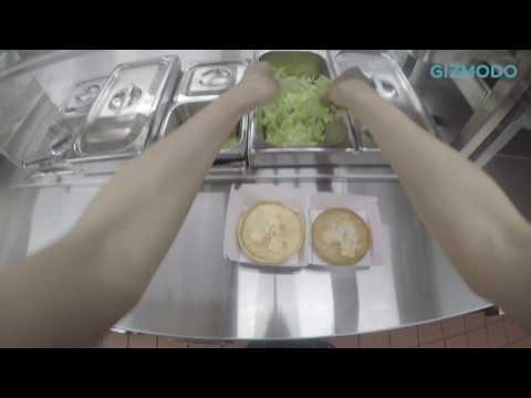 [Sponsored]速い! マクドナルドで「ビッグマック」制作工程をGoPro撮影