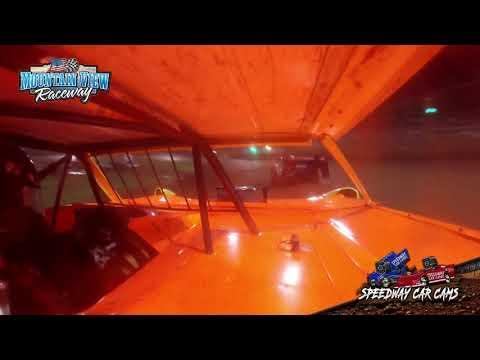 #24 Barry Goodman - Limited - 9-11-21 Mountain View Raceway - In-Car Camera - dirt track racing video image