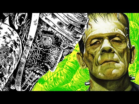 This Silent Hills Artist's Frankenstein Manga Is Terrifying - Up at Noon - UCKy1dAqELo0zrOtPkf0eTMw