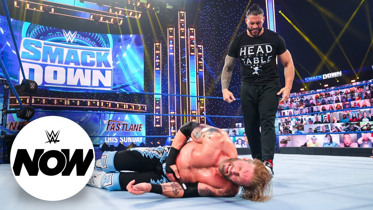 Roman Reigns, Edge and Daniel Bryan put legacies on the line at WrestleMania: WWE Now, April 9, 2021