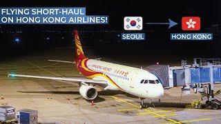 TRIPREPORT | Hong Kong Airlines (ECONOMY) | Airbus A320 | Seoul Incheon - Hong Kong