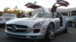 2012 Mercedes-Benz SLS AMG Start Up, Exhaust, and In Depth Tou