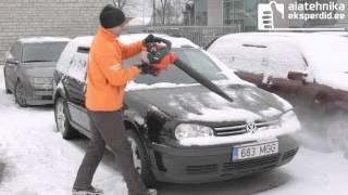 Õhuluuaga lume vastu