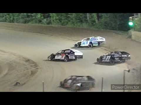 IMCA Modified A-Main - Crystal Motor Speedway - 9-4-2021 - dirt track racing video image