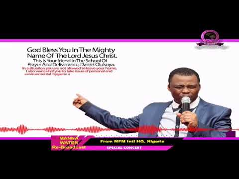 YORUBA MFM SPECIAL MANNA WATER SERVICE WEDNESDAY MAY 27th 2020