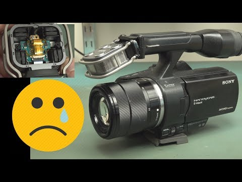 EEVblog #1206 - Repair: Sony NEX VG30 Video Camera - UC2DjFE7Xf11URZqWBigcVOQ