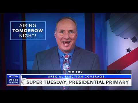 TOMORROW: Super Tuesday LIVE Election Coverage in a Spirit of Faith