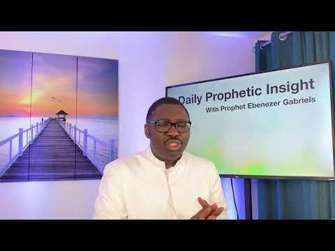 Prophetic Insight  Mar 16th, 2021