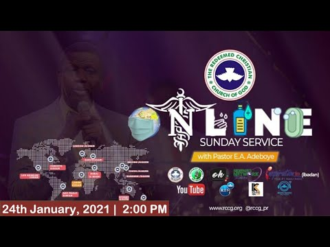 RCCG JANUARY 24TH 2021  PASTOR E.A ADEBOYE SPECIAL SERVICE