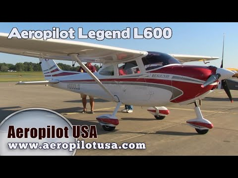 L600 Light Sport Aircraft from Aeropilot USA, Legend L-600 Aircraft Midwest LSA Expo Mt. Vernon Ill.
