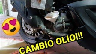 Cambio olio PIAGGIO BEVERLY 125