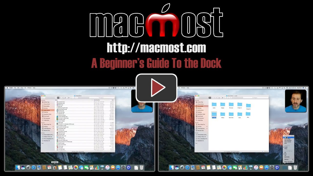 A Beginner's Guide To the Mac Dock