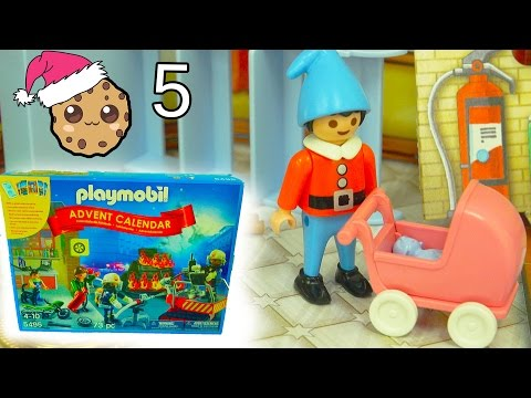 New Baby? - Playmobil Holiday Christmas Advent Calendar - Toy Surprise Blind Bags  Day 5 - UCelMeixAOTs2OQAAi9wU8-g