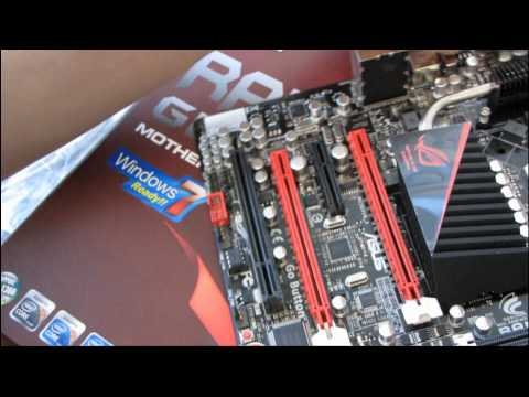 ASUS Rampage III Gene Republic of Gamers mATX Core i7 Motherboard Unboxing and First Look - UCXuqSBlHAE6Xw-yeJA0Tunw