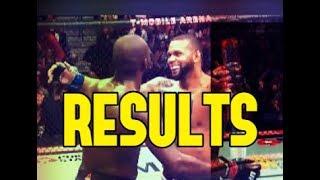 UFC 239 Results (Jon Jones vs Thiago Santos card)