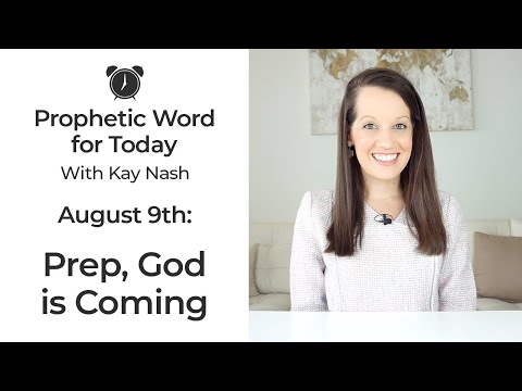 Prophetic Word for Today-Prep the Horse God is coming!- August 9th