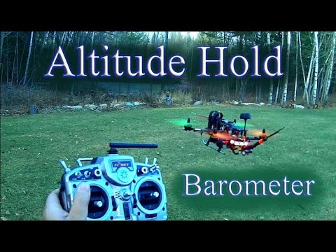 Mini Quad Naze32 -  Barometer Altitude Hold Testing ALT PID settings carried out - UC7YWQYAdKXIVOPX-oedoOUQ
