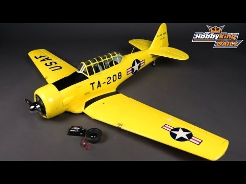 HobbyKing Daily - 1300mm PnF AT-6 Texan with Sound Module - UCkNMDHVq-_6aJEh2uRBbRmw