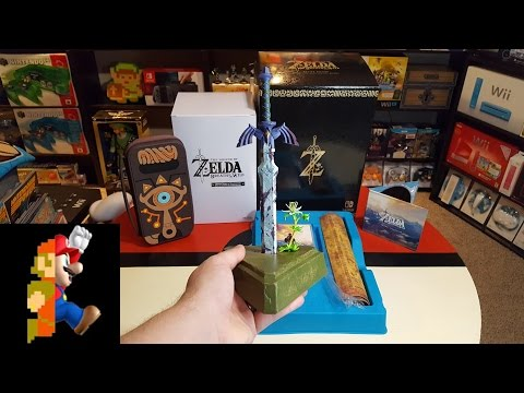 Master Edition of Zelda: Breath of the Wild Unboxing - UCkMlE43OUrn7S1HKnk2-HzA
