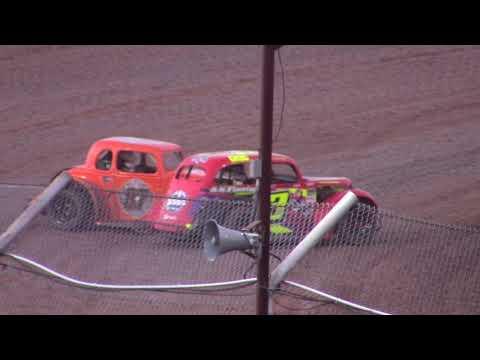 7/24/21 Legend Feature Beaver Dam Raceway - dirt track racing video image