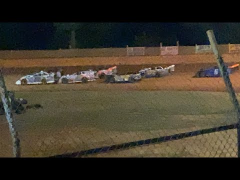 9/19/2020 Limited Late Models Harris Speedway - dirt track racing video image