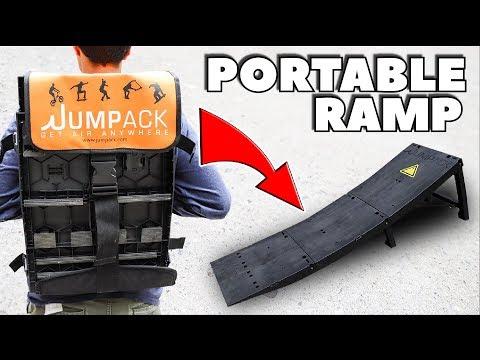 BACK PACK SKATE RAMP!! *Portable & Light Weight!* - UCEvzv3C8BR8d6r2VRqqsA_A